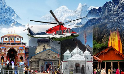 Char Dham Yatra from Delhi By Helicopter Kedarnath, Badrinath for 06 Nights and 07 Days