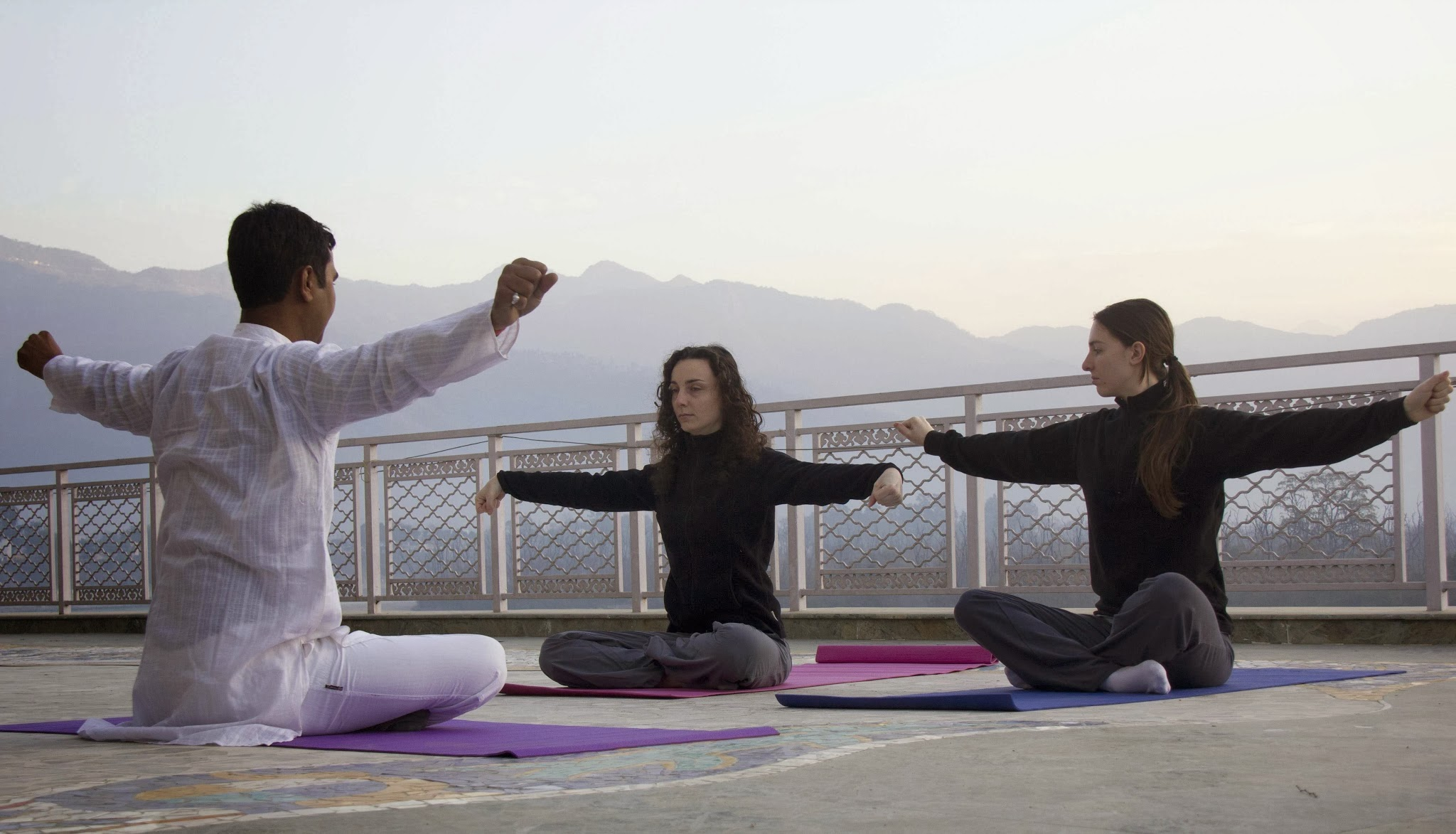 Yoga - Ganga Kinare, Rishikesh, India