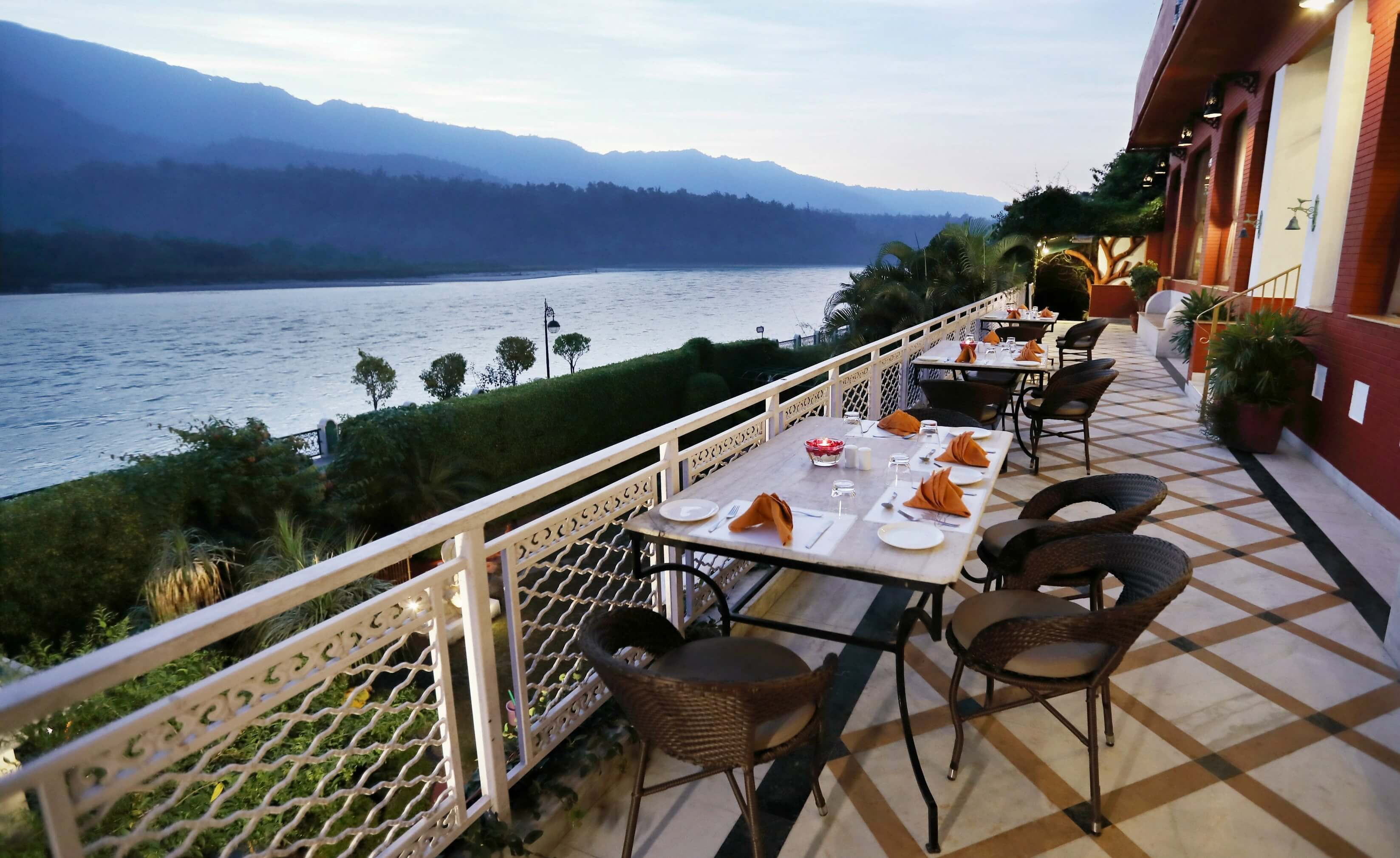 Restaurant - Ganga Kinare, Rishikesh, India
